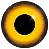 Глаза стеклянные для птиц серии 185