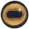 Стеклянные глаза серии 190 OV (овальный зрачок)