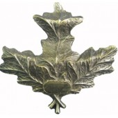 Лист дубовый (металл)